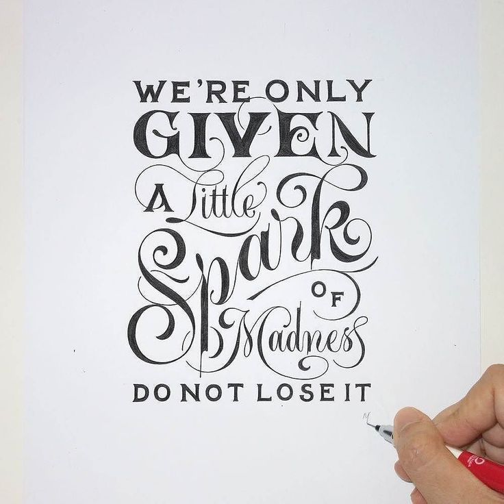 Drawn quote different font LetteringTypography DrawingRobin Typography Best FontsHand