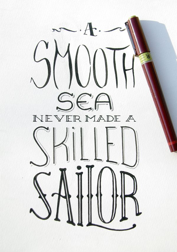 Drawn quote different font LetteringTypography 28 Drawn best TypographyHand