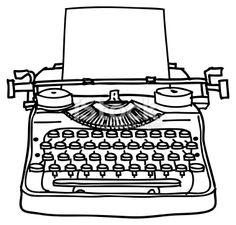 Drawn typewriter Typewriter how to typewriter result