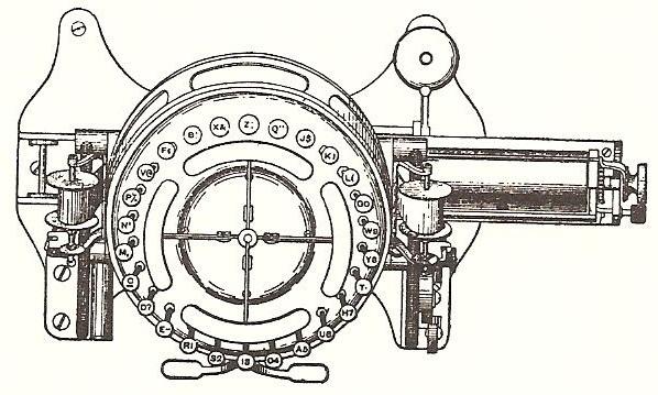 Drawn typewriter 19th century #15