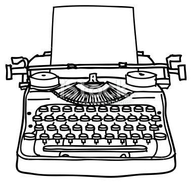 Drawn typewriter A Drawing Royalty 25+ fashion