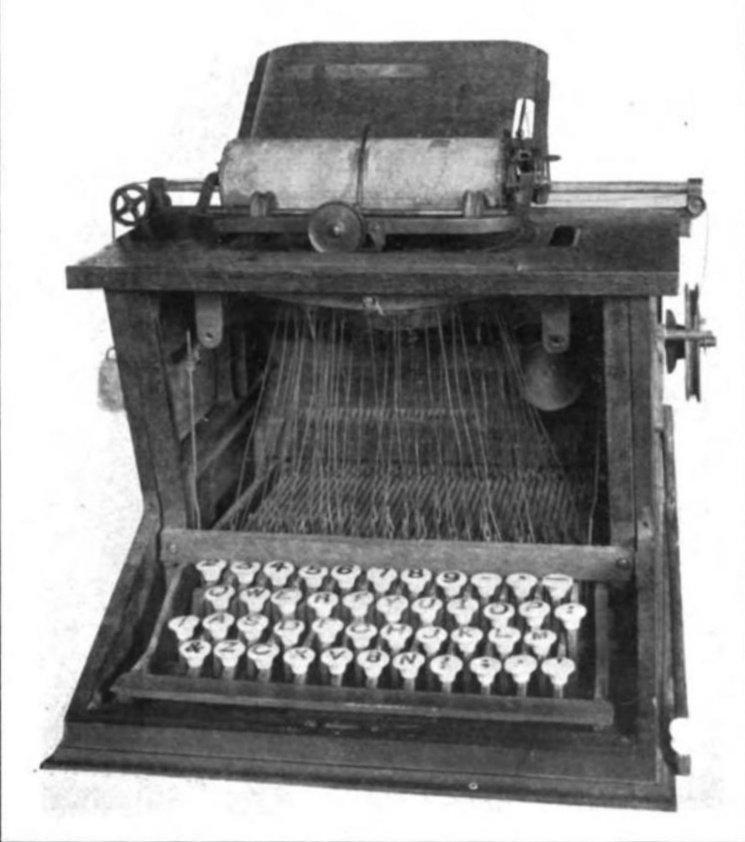 Drawn typewriter The Tackk first commercially Typewriter