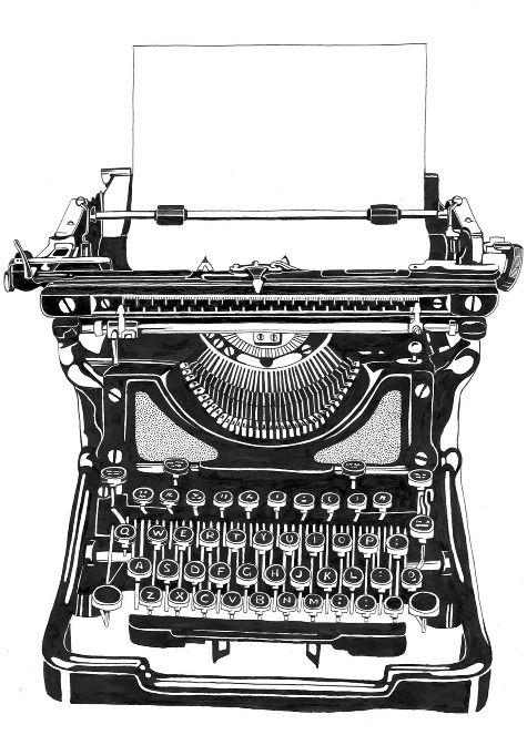 Drawn typewriter Images Rodchester typewriter on 243