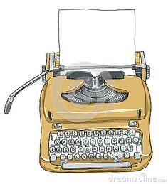 Drawn typewriter Typewriter! not real?! drawing Check