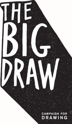Drawn typography branding I n world's largest a