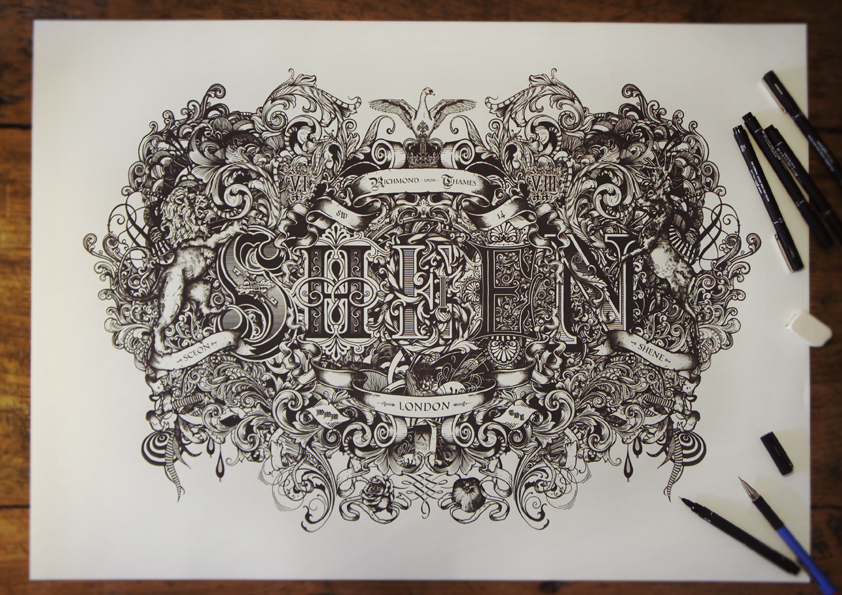 Drawn typography detailed And Typography Coulton Creative by