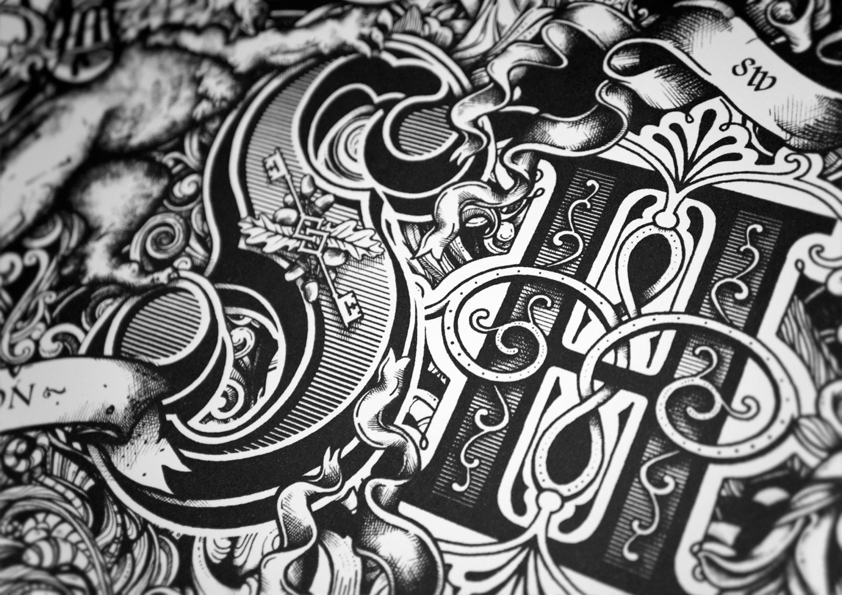 Drawn typography detailed 2 and by typography Greg