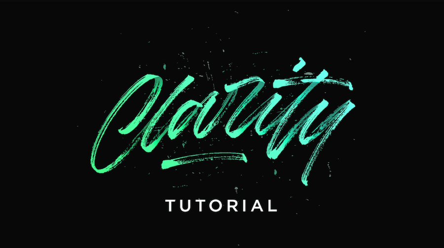 Drawn typography gritty Tutorial hand drawn Hand For