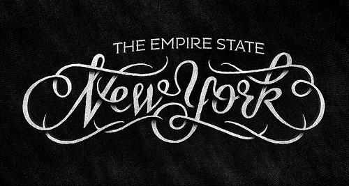 Drawn typography logo York coffee jpeg illiustration it