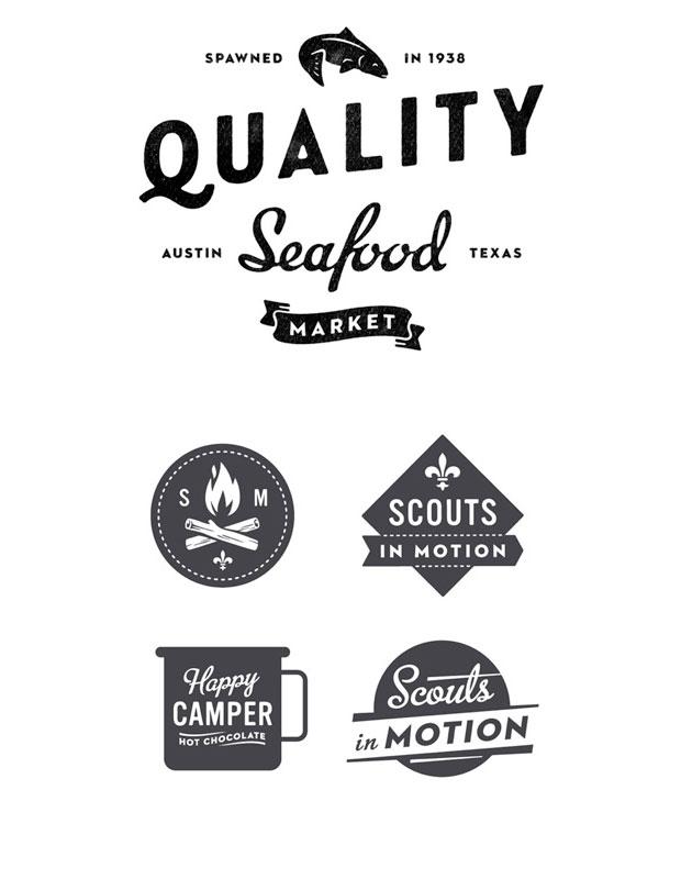 Drawn typography logo Typographic Love Lettering logos