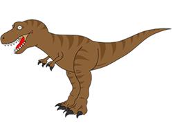Drawn tyrannosaurus rex Rex Tyrannosaurus a How Dinosaur