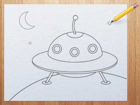 Drawn ufo YouTube  for draw How