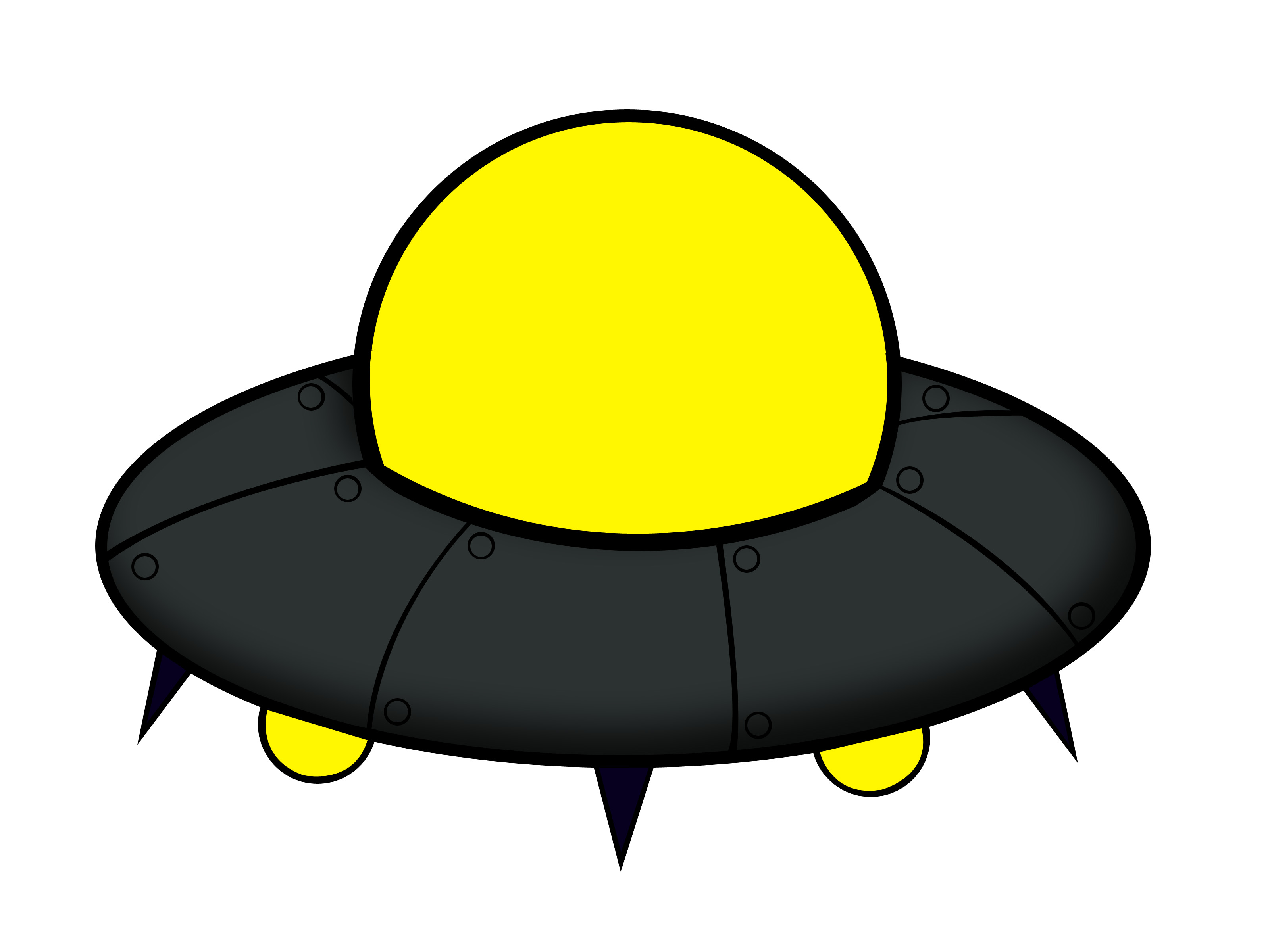 Drawn ufo Clipartwork — Images Animated Free