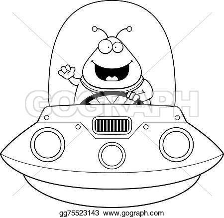 UFO clipart cartoon An  Art cartoon ufo