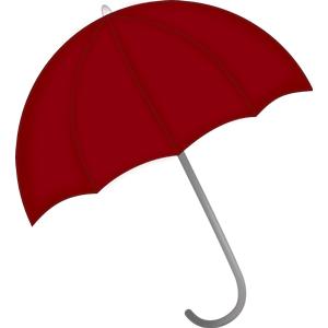 Drawn umbrella animation Media of found style my