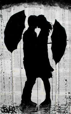 Drawn umbrella art Drawing Loui little Artist Online