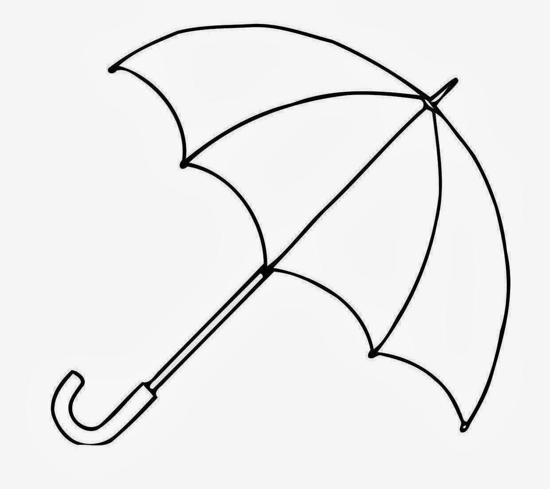 Drawn umbrella colouring picture Free Coloring Drawing Drawing Drawing