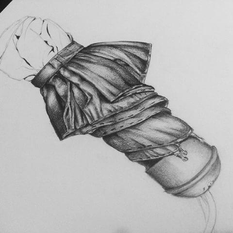 Drawn umbrella For photos my #wip school!