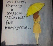 Drawn umbrella yellow umbrella Com images met mother Favim