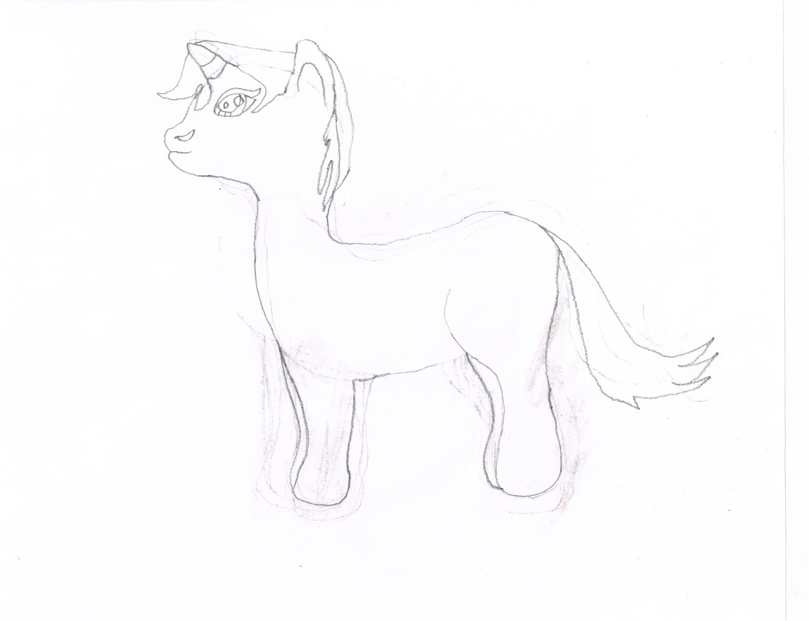 Drawn unicorn Drawn unicorn first My by