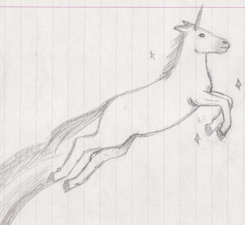 Drawn unicorn Mangalori magical unicorn drawn DeviantArt