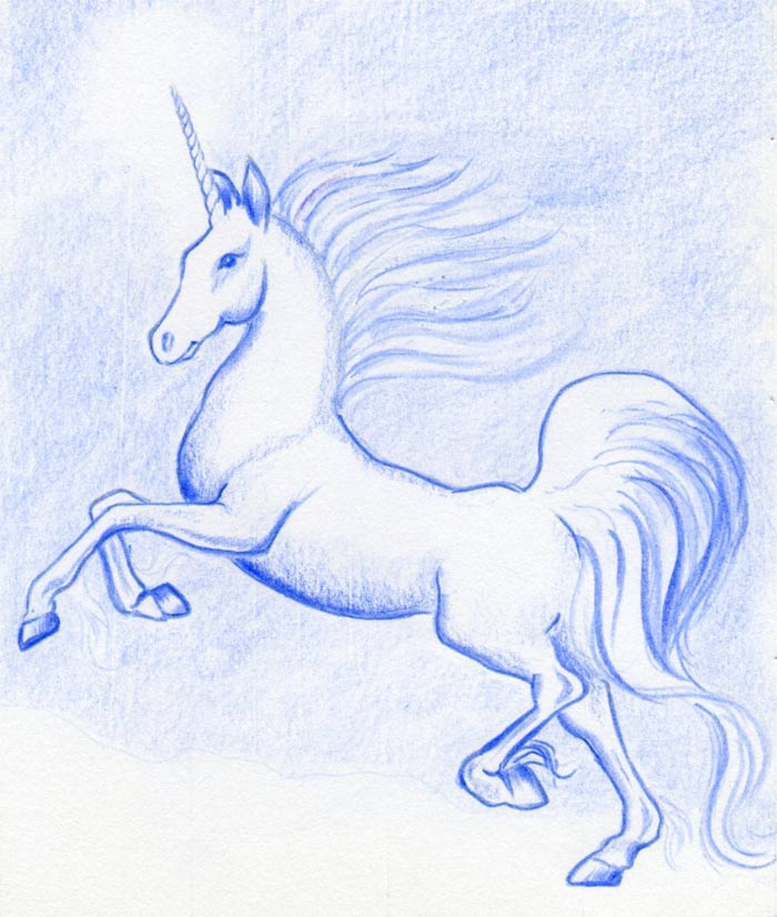Drawn unicorn Forget to not A good