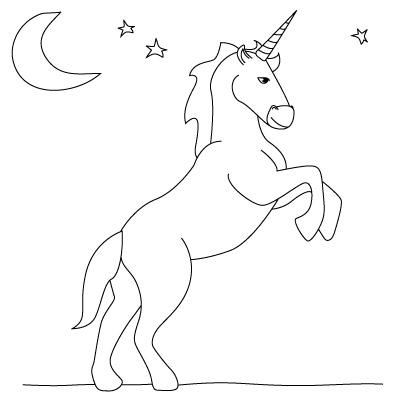 Drawn unicorn Fun Drawing a  Draw