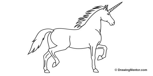 Drawn unicorn How to a draw Tutorial