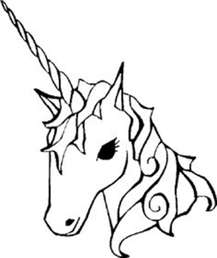 Drawn unicorn Unicorn graphic 25+ Easy Pinterest