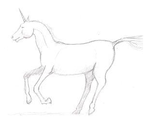 Drawn unicorn Unicorn Draw to A How