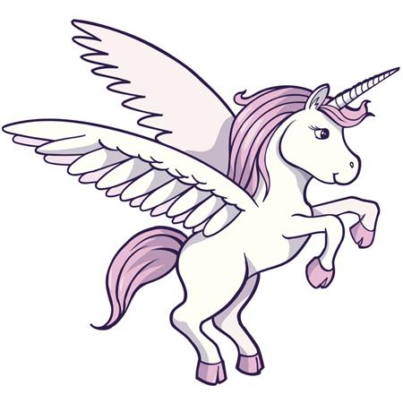 Drawn unicorn Step6 Paper with unicorn Unicorns