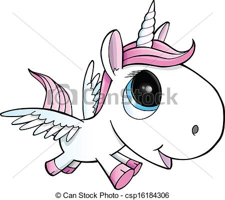 Wings clipart unicorn  Vector Vector Pegasus Vector