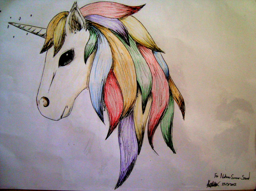 Drawn rainbow unicorn Rainbow prize___rainbow_unicorn___natsune_suummer_sound_by_xcubx  unicorn d4um6li