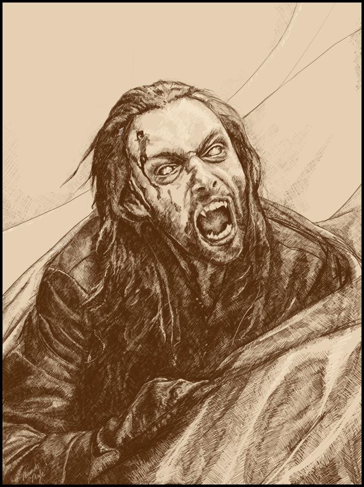 Drawn vampire ambrogio Werewolves Freelancer: Vampires Anthony Freelancer