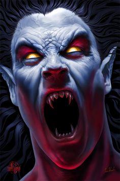Drawn vampire angry Sweet prince Art Clown you