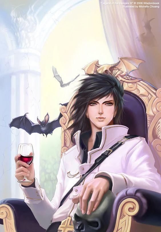 Drawn vampire anime vampire male At Pinterest anime anime ideas