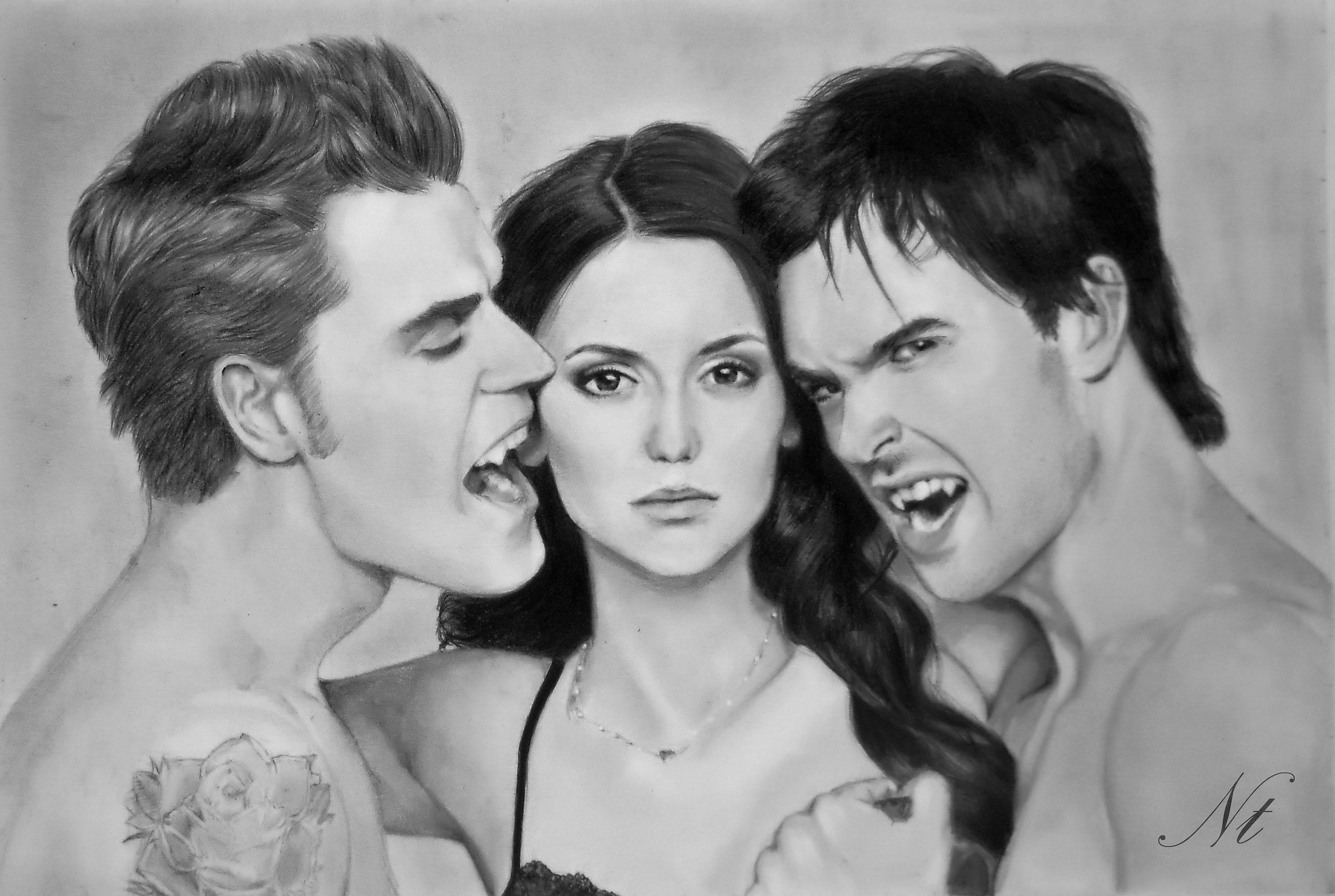 Drawn vampire art Natlina by on Vampire Natlina