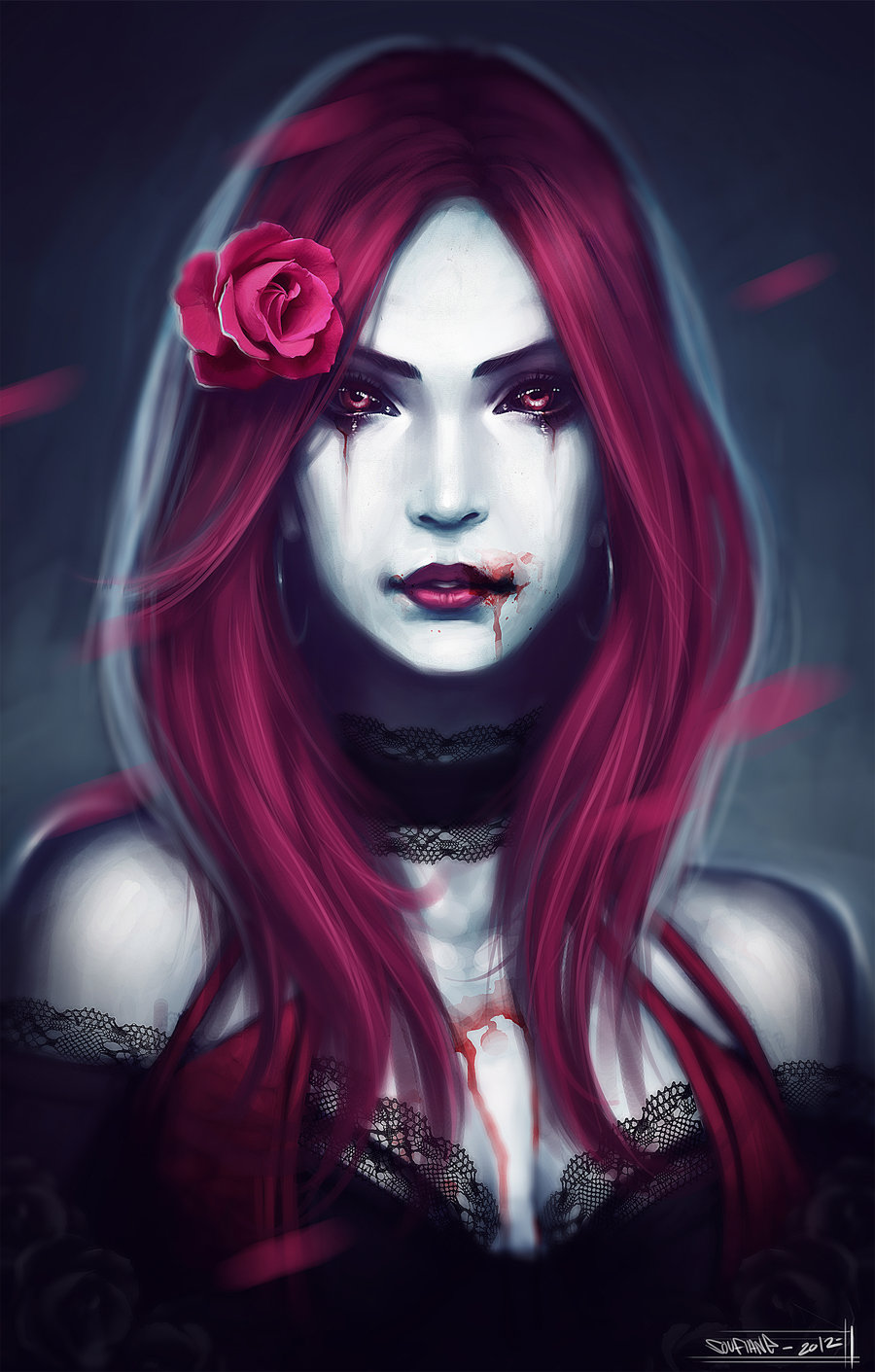 Drawn vampire art Art art gothic streetx222 by