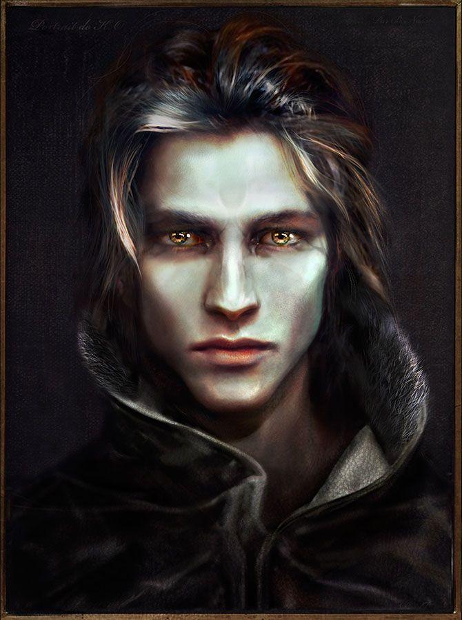 Drawn vampire art 25+ Character Album Art on