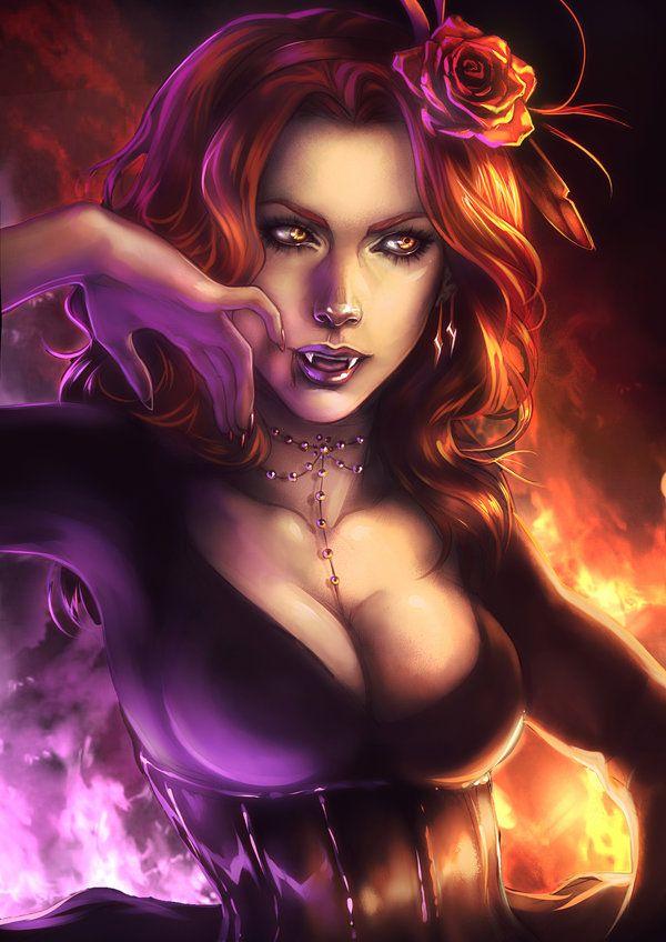 Drawn vampire beautiful female And Find Vampires Vampires images