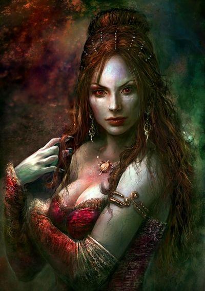 Drawn vampire beautiful female Images  on best Pinterest