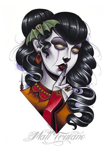 Drawn vampire copic The Online Portfolio Truiano Bat