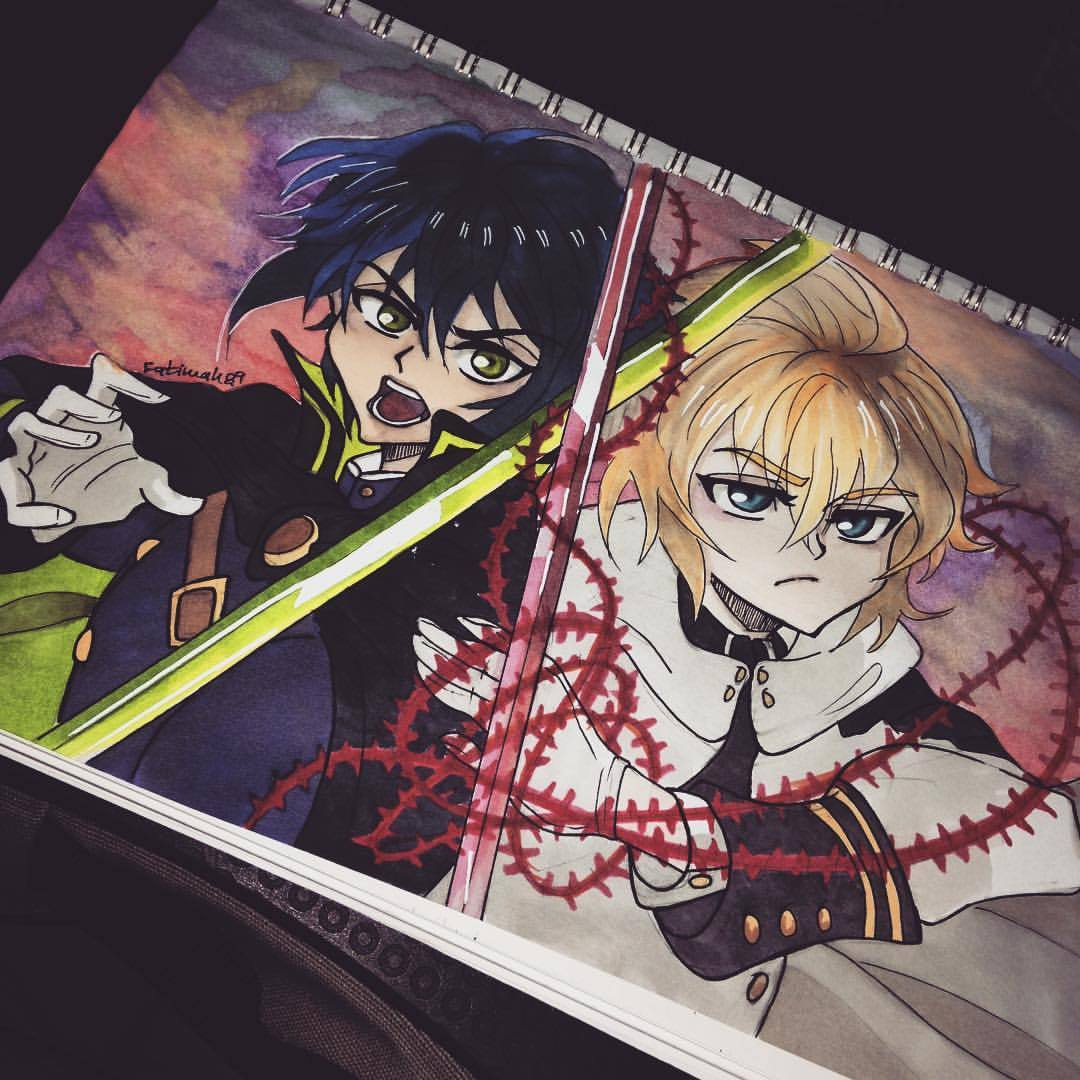 Drawn vampire copic My #art #sketching #artist #sketch