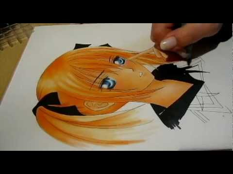 Drawn vampire copic Knight) drawing with: Marker Copic