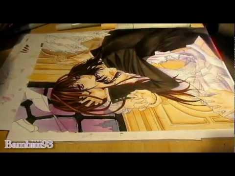 Drawn vampire copic Marker YouTube Vampire Kaname ♥