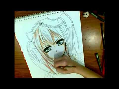 Drawn vampire copic (Vampire ] Knight request [