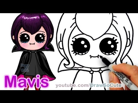 Drawn vampire cute cartoon Vampire  Draw by Girl