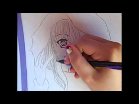 Drawn vampire cute cartoon Anime Girl Drawing: Vampire Anime