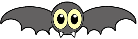 Drawn vampire cute cartoon Bat Step How by with