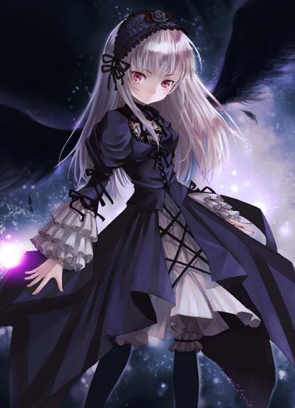 Drawn vampire dark female Vampire Image anime vampire Silveriness